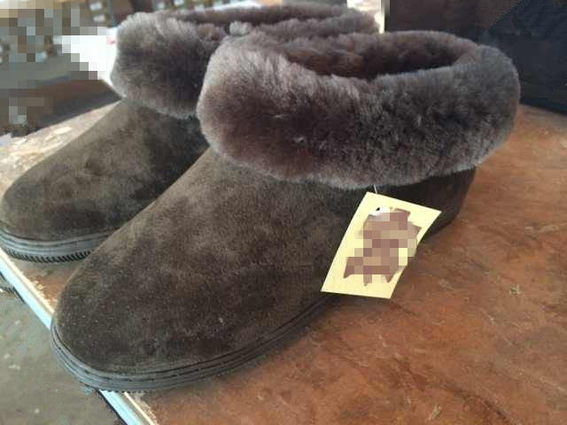 sheep/lambskin boots/slippers Kreta
