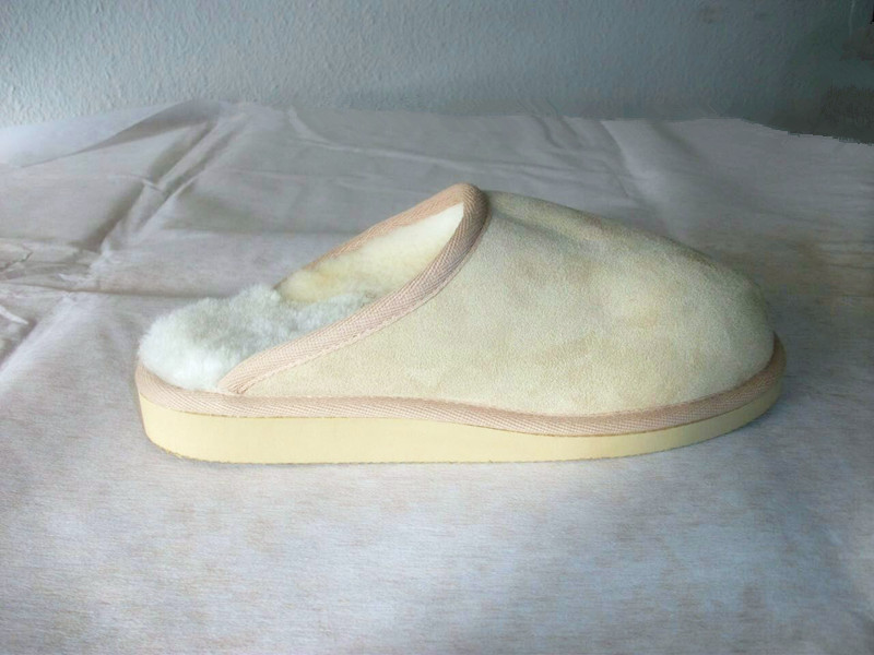 Indoor Sheep/lambskin Slipper-Malta
